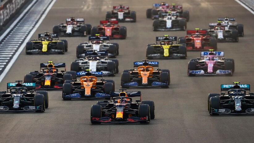 Max Verstappen wygrał GP Abu Zabi