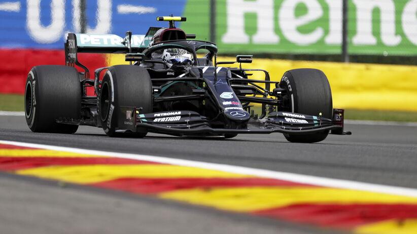 Valtteri Bottas podczas GP Belgii