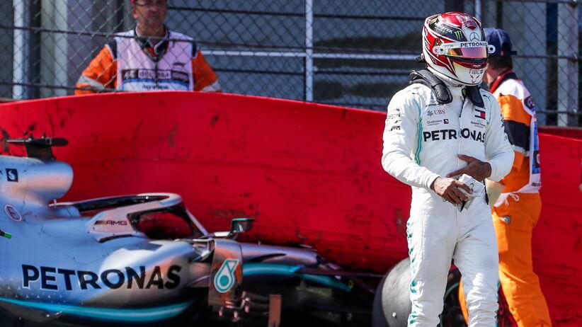 Lewis Hamilton w GP Belgii