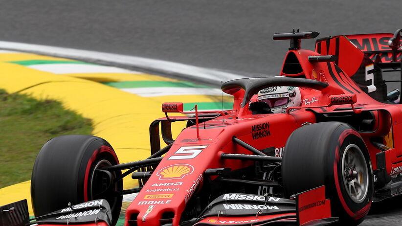 Vettel w GP Brazylii