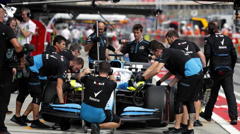 Robert Kubica ukarany przed GP Rosji