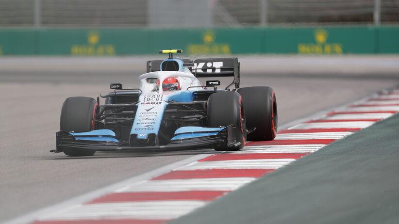 Robert Kubica najwolniejszy na 1. trningu przed GP Rosji