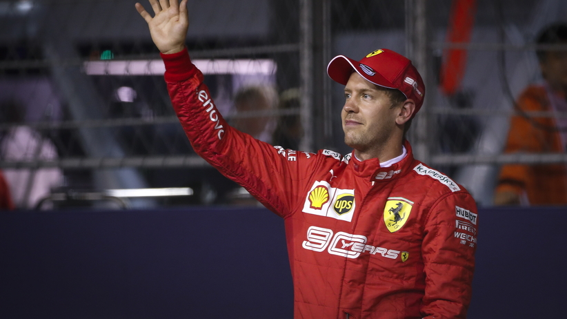 GP Singapuru: Dublet Ferrari, Russell nie ukończył wyścigu