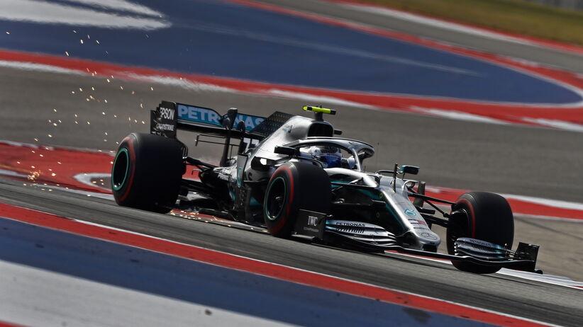 Valtteri Bottas wygrał kwalifikacje przed GP USA
