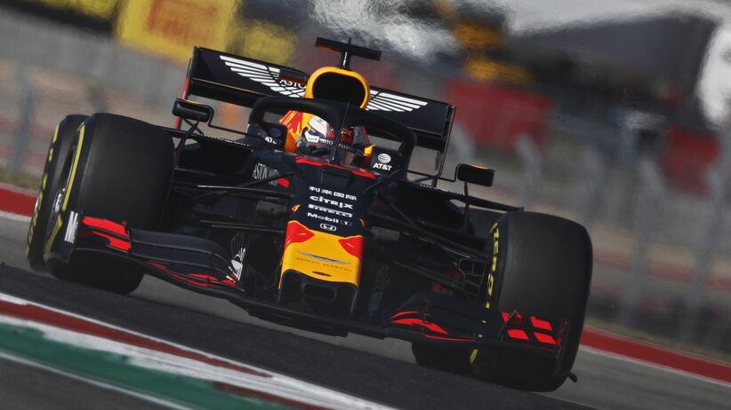 Verstappen najszybszy na 3. treningu