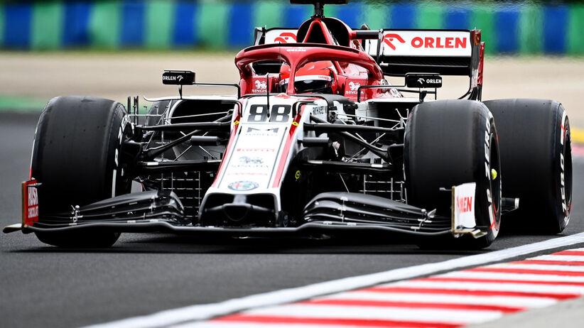 1. trening GP Węgier: Hamilton najszybszy, Kubica 19