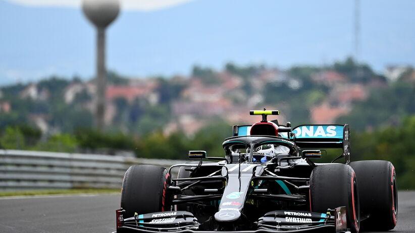 GP Węgier - Valtteri Bottas najlepszy w 3. treningu