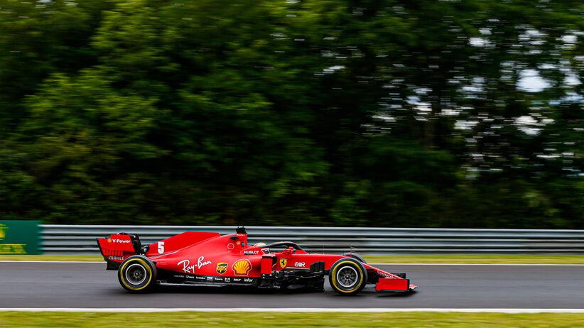 Sebastian Vettel wygrał drugi trening przed GP Węgier