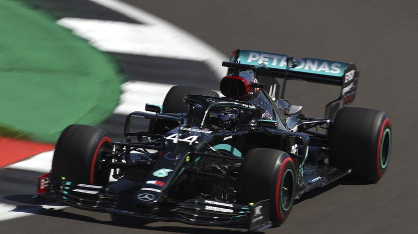 GP Wielkiej Brytanii - Hamilton z najlepszym czasem w drugim treningu