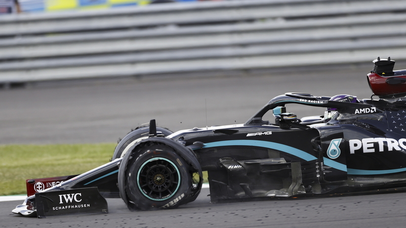 Lewis Hamilton wygrał GP Wielkiej Brytanii