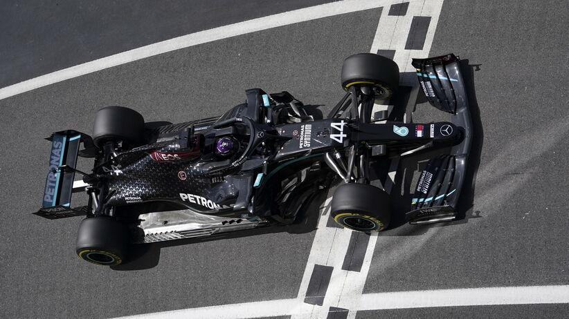 Lewis Hamilton wygrał kwalifikacje przed GP Wielkiej Brytanii