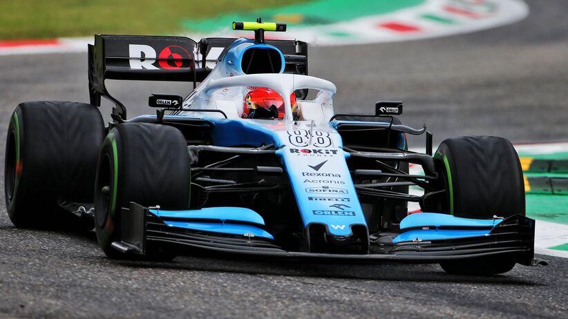 Robert Kubica w GP Włoch