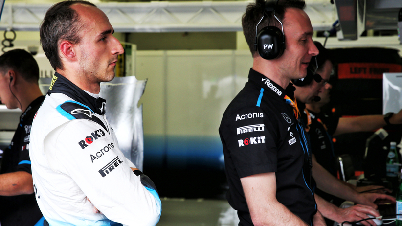 Robert Kubica o problemach Williamsa