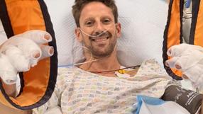 Romain Grosjean nagrał specjalne wideo po wypadku: To mnie uratowało