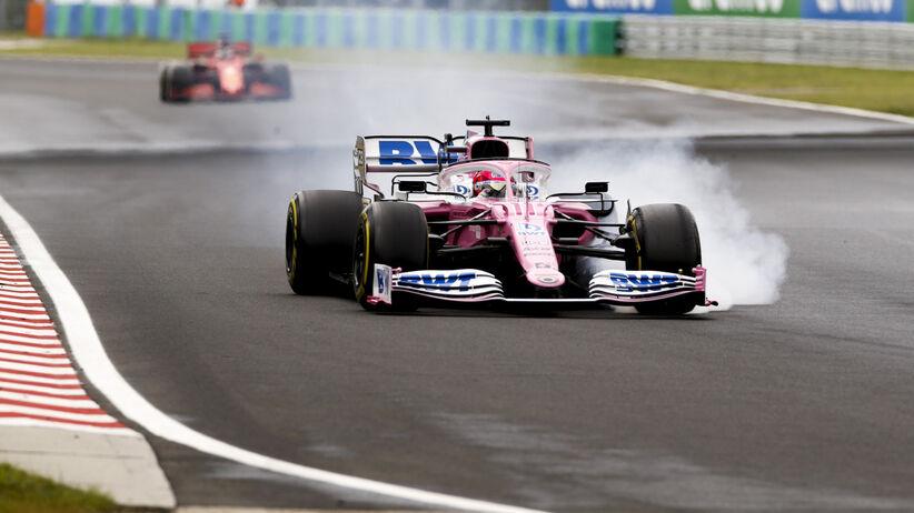 Sergio Perez w izolacji