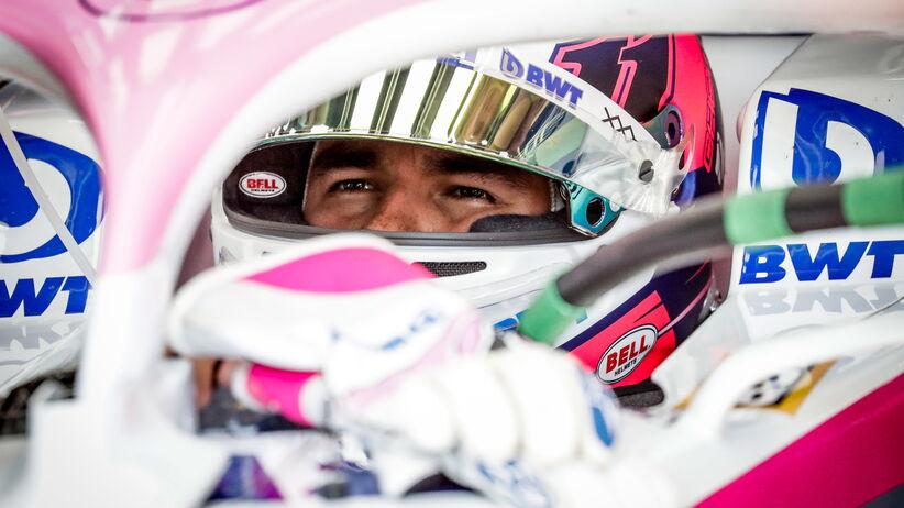 Sergio Perez zostaje w Racing Point