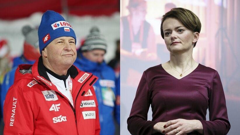 Apoloniusz Tajner i Jadwiga Emilewicz