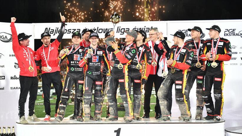 Betard Sparta Wrocław drużynowym mistrzem Polski na żużlu