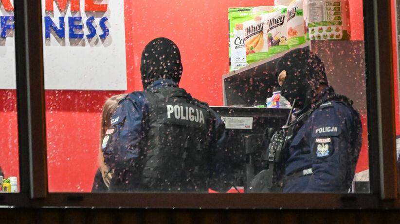 Policja w klubie fitness