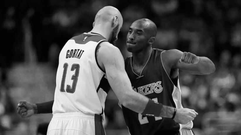 Marcin Gortat, Kobe Bryant