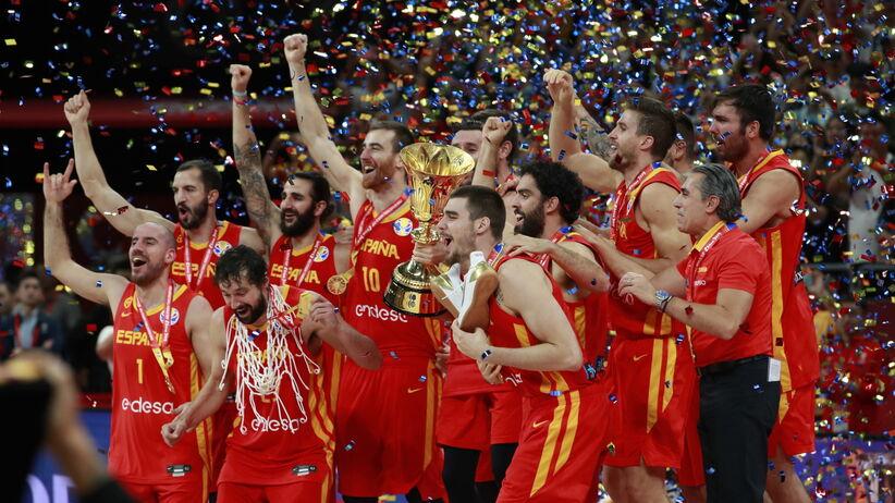 Hiszpania, MŚ w koszykówce