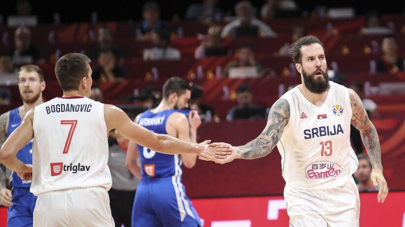Serbia - Czechy, koszykówka