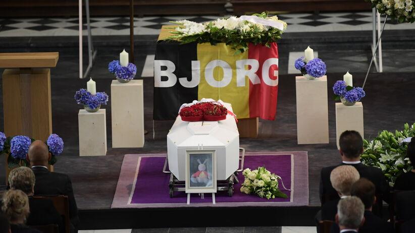 Bjorg Lambrecht, pogrzeb