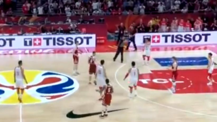 Polska - Chiny MŚ koszykarzy