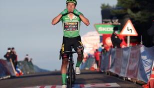 Vuelta a Espana: Zwycięstwo Roglicia na 8. etapie, Carapaz liderem