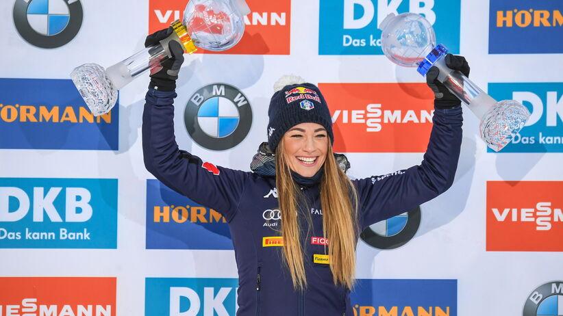 Dorothea Wierer wygrała Kryształową Kulę