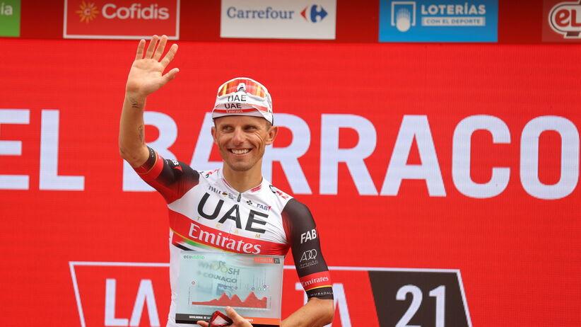 Rafał Majka najlepszy w etapie Vuelta a Espana. Znakomita jazda Polaka