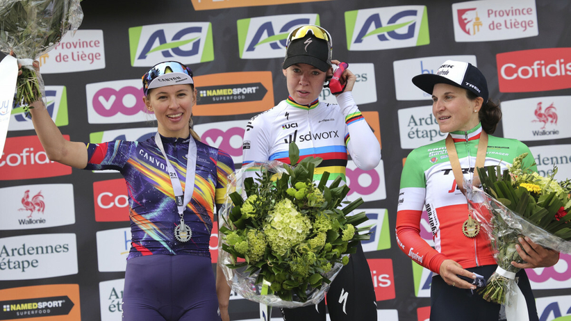 Katarzyna Niewiadoma druga w belgijskim klasyku kolarskim