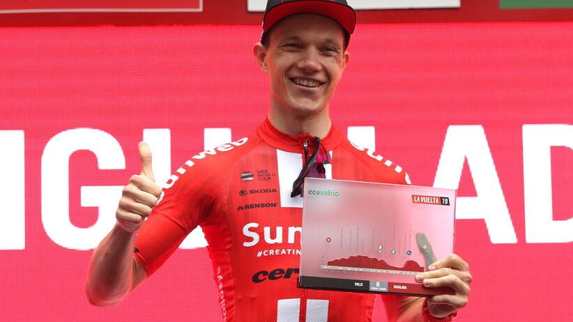 Vuelta a Espana - Arndt wygrał etap, spadek Rafała Majki w klasyfikacji generalnej