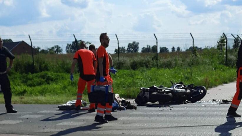 Wypadek w Dookoła Mazowsza