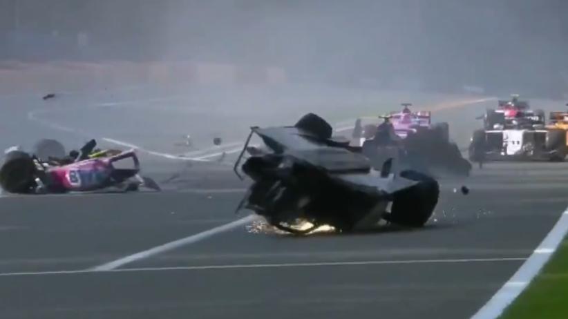 wypadek w F2