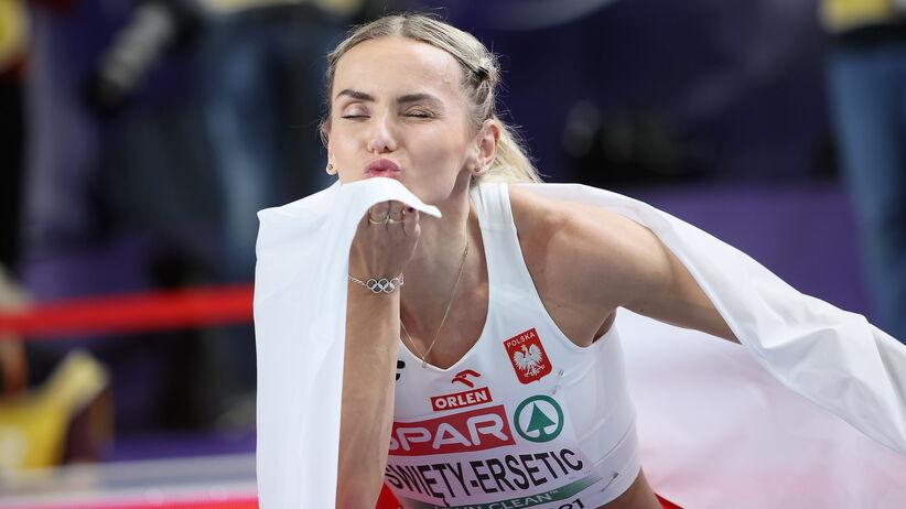 Justyna Święty-Ersetic halową wicemistrzynią Europy