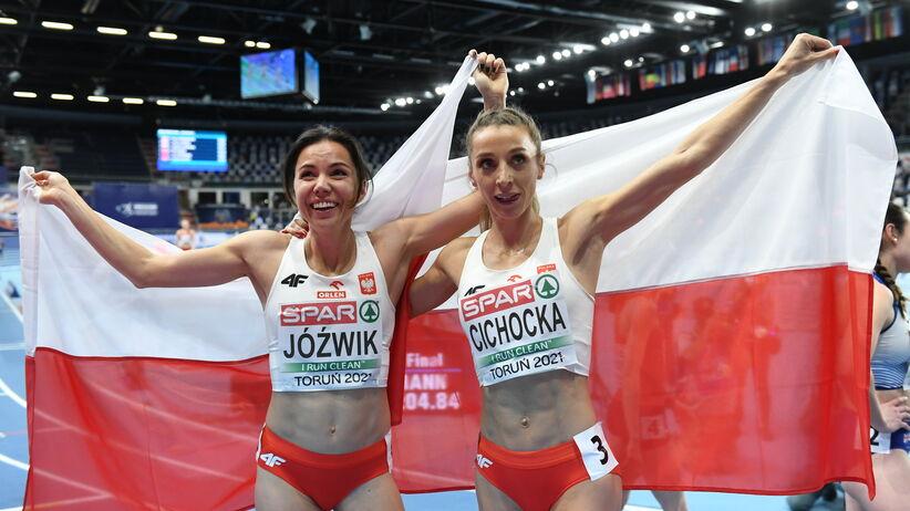 Joanna Jóźwik i Angelika Cichocka