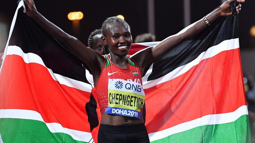 Ruth Chepngetich złotą medalistką MŚ w Doha w maratonie