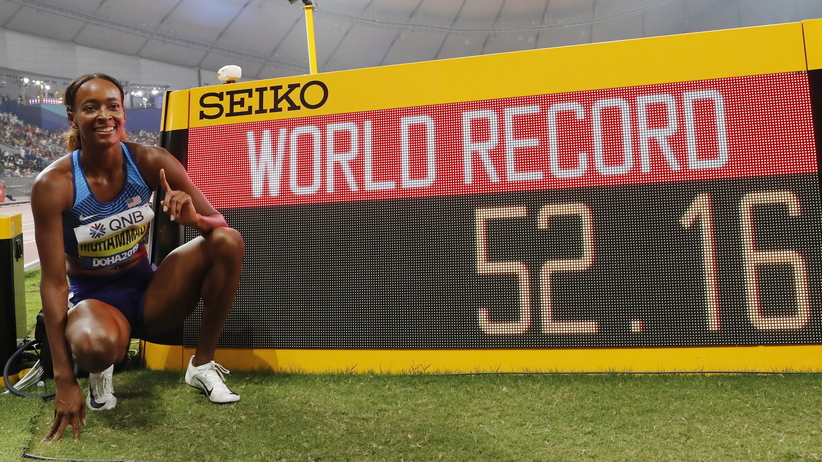 Dalilah Muhammad pobiła rekord świata w Doha