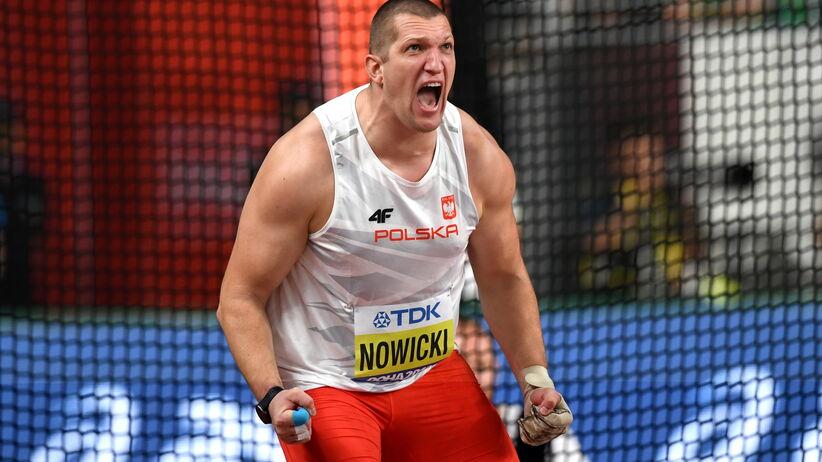 Wojciech Nowicki brązowym medalistą
