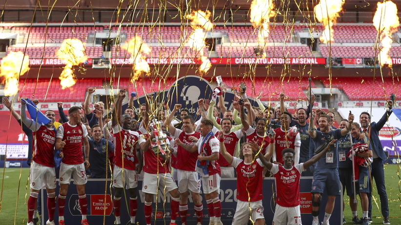 Arsenal zdobył Puchar Anglii
