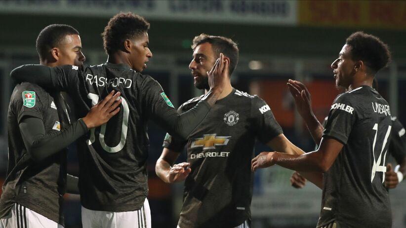 Carabao Cup: Manchester United pokonał Luton Town w 3. rundzie - Sport