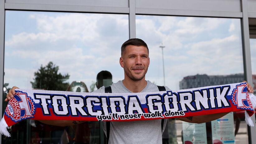 Lukas Podolski przyleciał do Polski