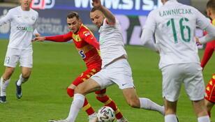 Ekstraklasa: Strzelanina w meczu Jagiellonia - Warta, Legia lepsza od Lechii