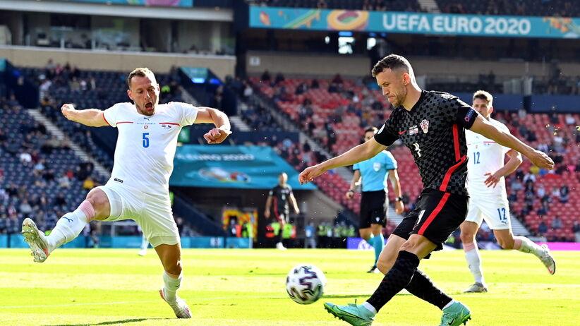 Gol z meczu Chorwacja - Czechy na Euro 2020 Zobacz WIDEO brame