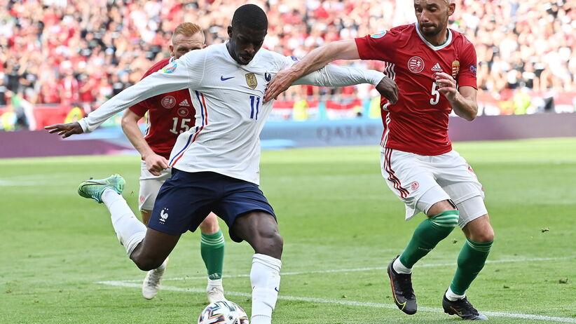 Euro 2021. Ousmane Dembele kontuzjowany. Francuz nie zagra więcej na Euro