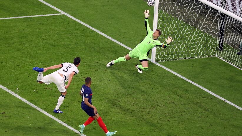 Francja - Niemcy WIDEO