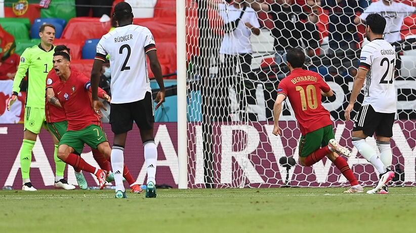 Niemcy - Portugalia WIDEO: GOLE