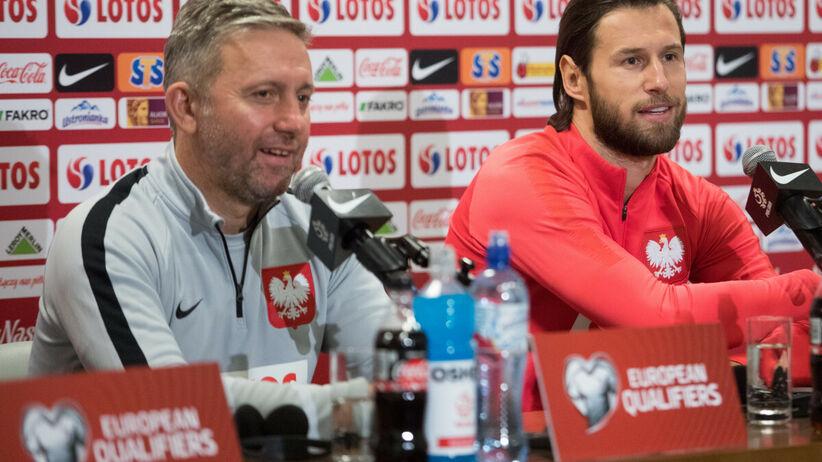 Grzegorz Krychowiak i Jerzy Brzęczek