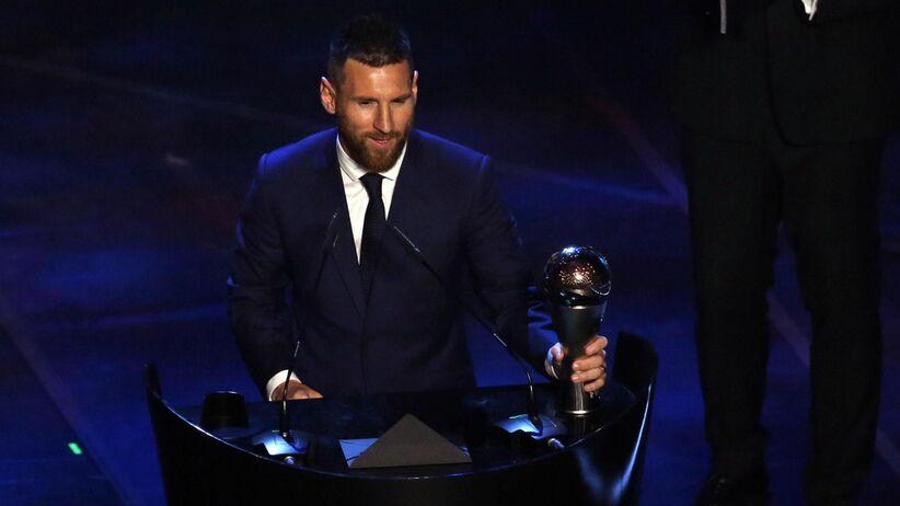 Lionel Messi Piłkarzem Roku FIFA